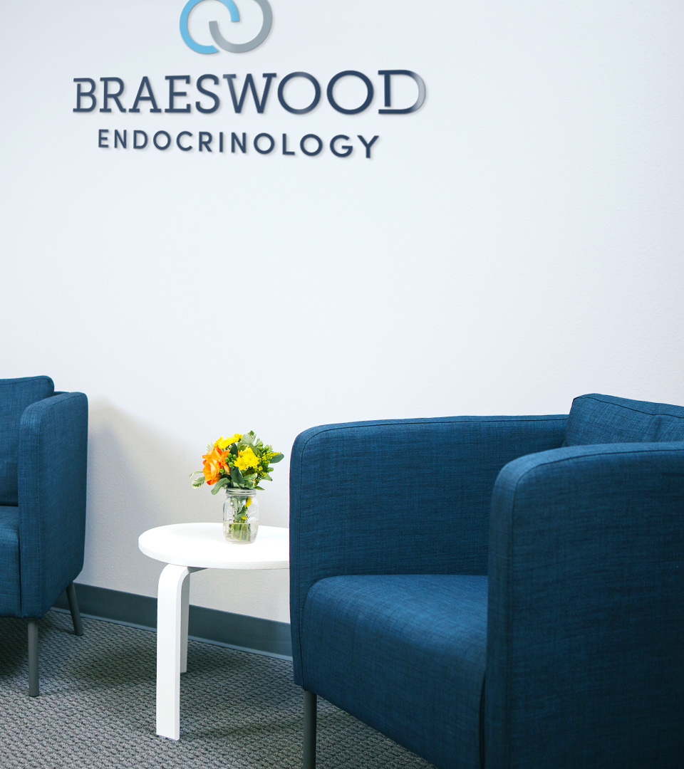 Braeswood Endocrinology medical practice office signage