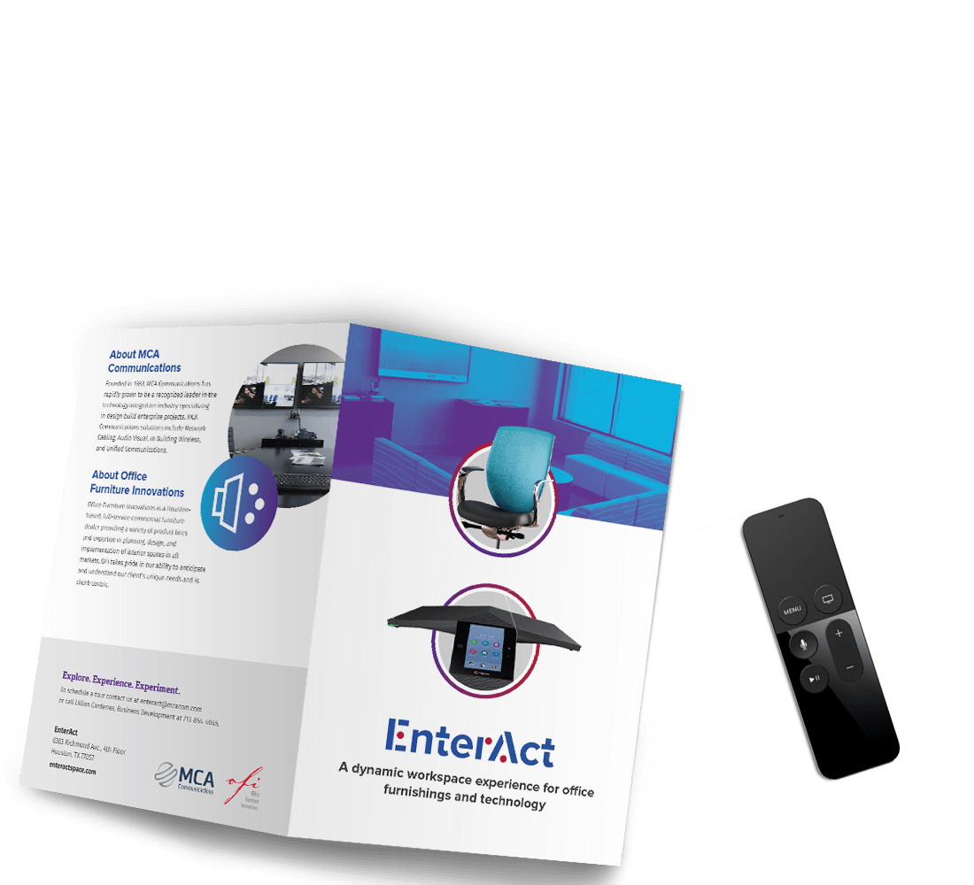 Enteract Showroom Branding