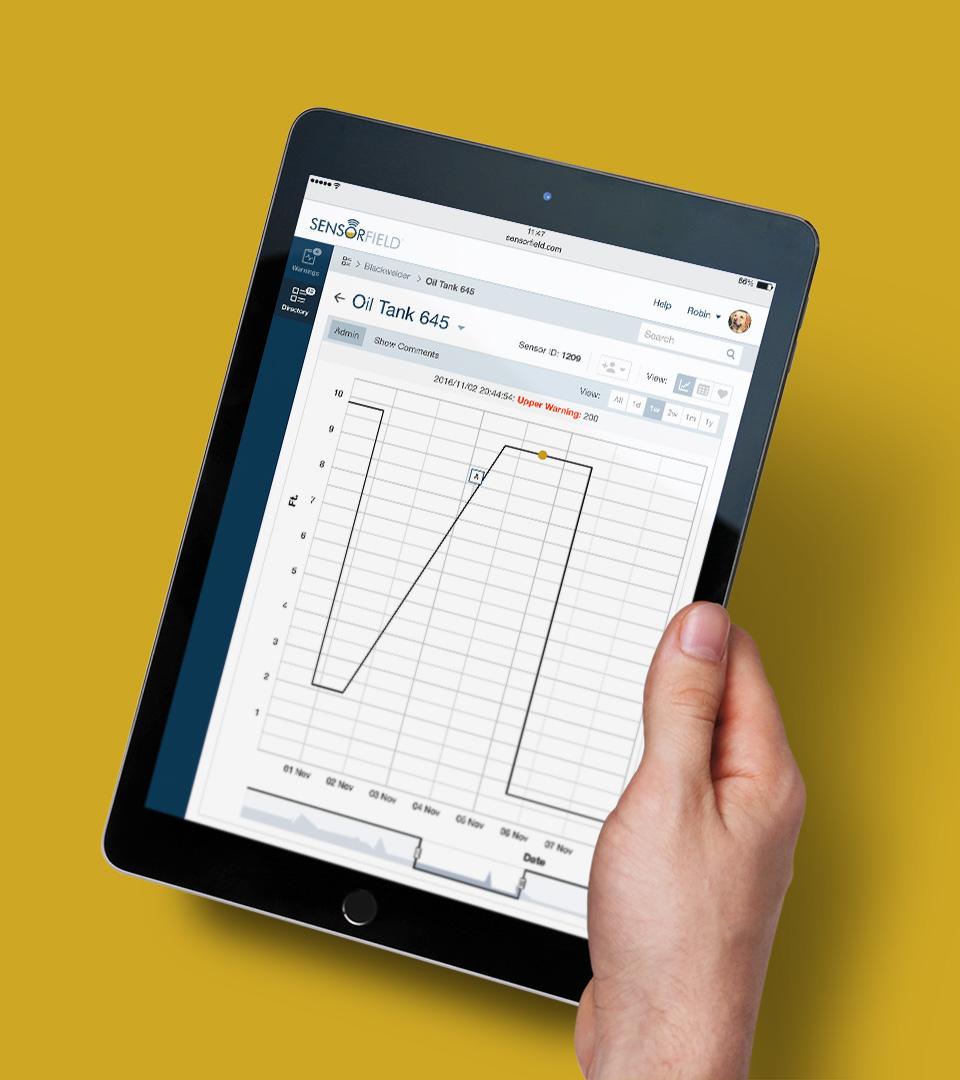 Sensorfield Startup UI UX Design