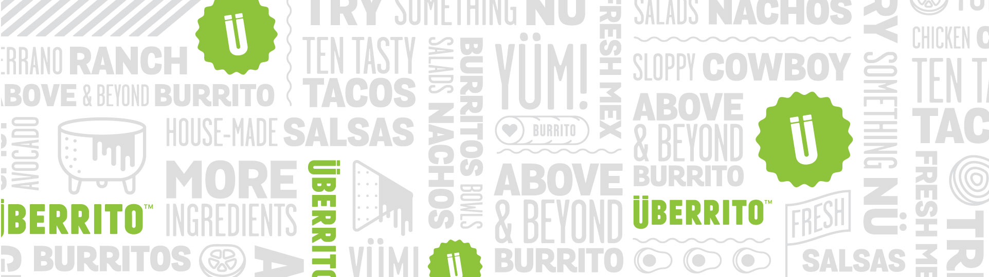 Uberrito fast-casual restaurant branding